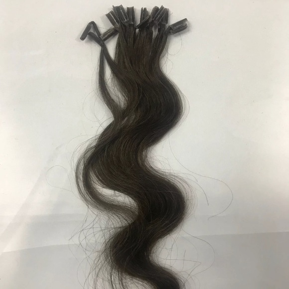 Accessories 20 Dark Brown Wavy Fusion Utip Hair Extensions Poshmark